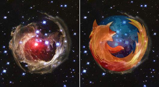 Hubble e Firefox