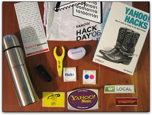 Gadgets do Yahoo! Hack Day 2006 (via Flickr)