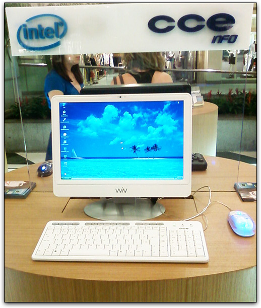 New Imac ? No this CCE Win