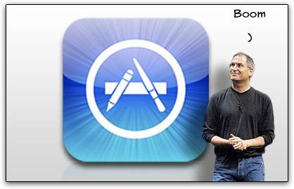 Steve Jobs e App Store: boom!