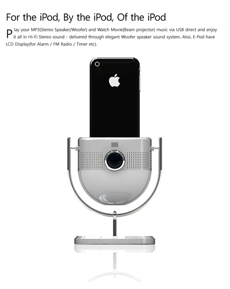 E-Pod, dock para iPod