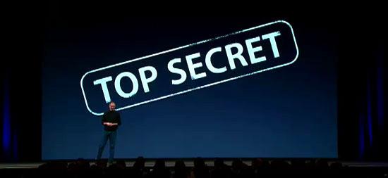 Apple - Steve Jobs e Top Secret