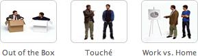 3 novos comerciais da Get a Mac