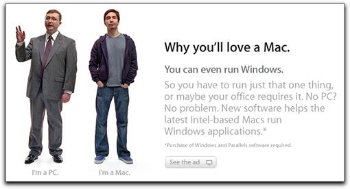 Apple promove Parallels