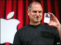 Steve Jobs com iPod