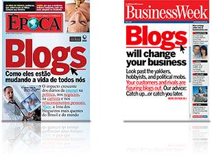 Revistas Época e Business Week
