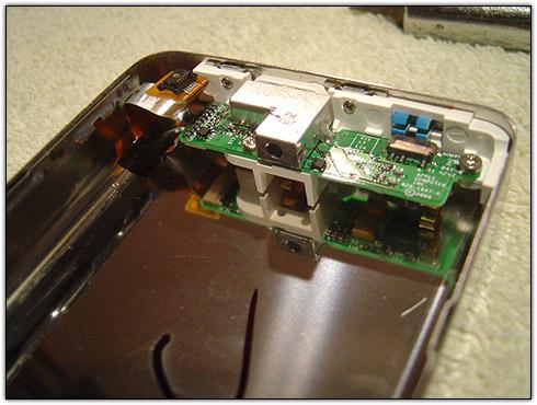 Abrindo iPod