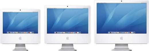 Novos iMacs