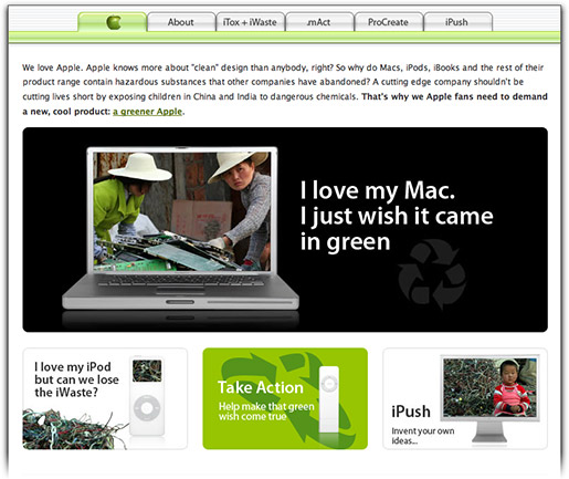 Greenpeace Apple