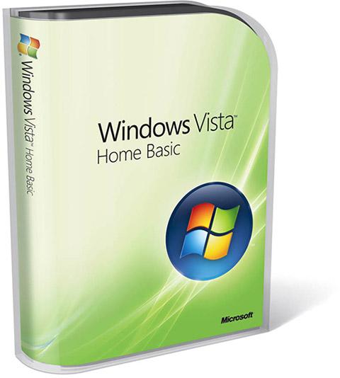 Caixa - Windows Vista Home Basic