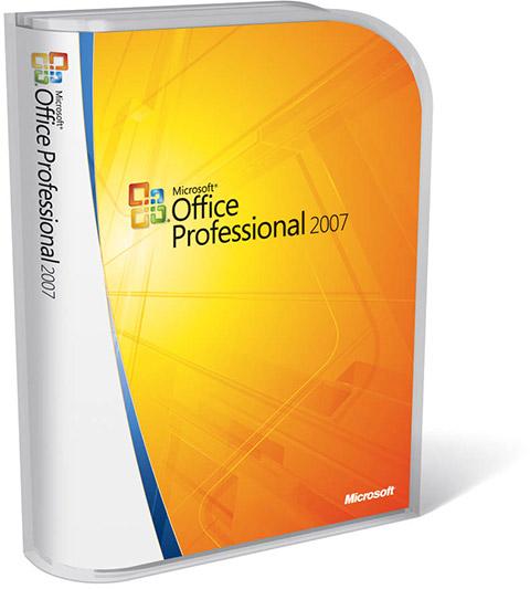 Caixa - Office Professional 2007