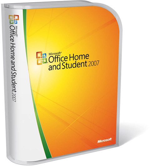 Caixa - Office Home and Student 2007