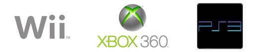 Wii, Xbox 360 e PS3