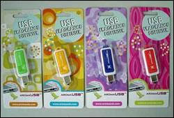 USB com cheirinho