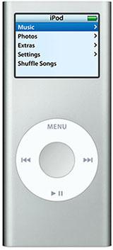 Apple iPod nano Silver