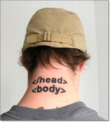 Tattoo HTML
