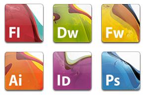 Ícones alternativos para CS3