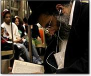 Rabino com iPod