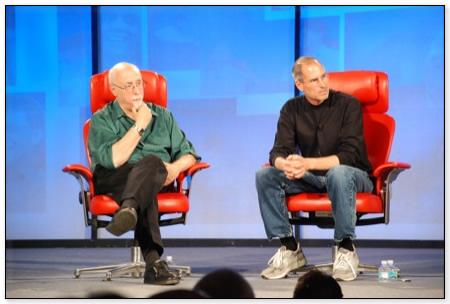 Steve Jobs na D 2007