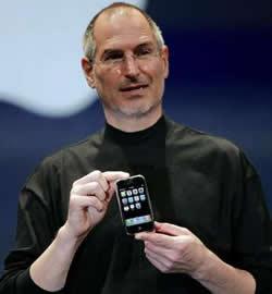 Steve Jobs e o iPhone