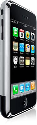 iPhone original de lado