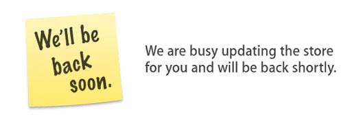 Apple Store fechada