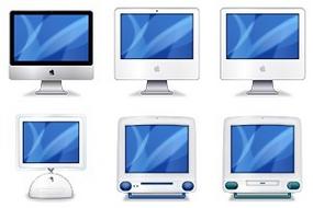 iMac Evolution Icons