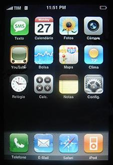 iPhone em português