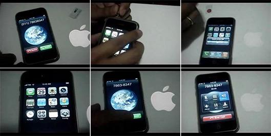 Frames do vídeo do iPhone