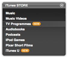 Programas de TV (iTunes UK)