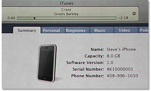 Keynote iTunes