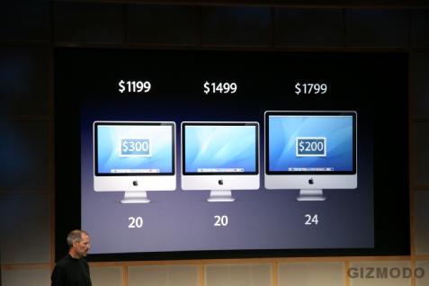 Novos iMacs já anunciados