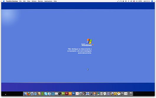 Windows via Parallels