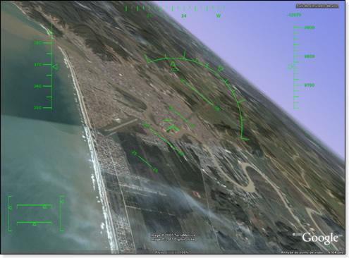 Simulador de Vôo do Google Earth