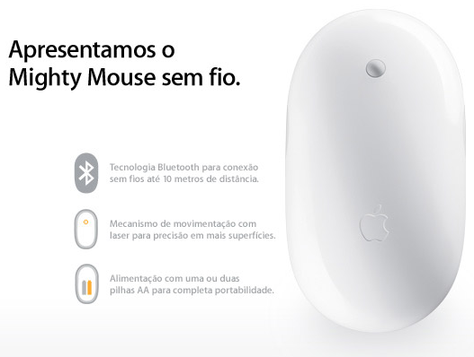 Mighty Mouse sem fio
