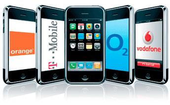 iPhone e operadoras Européias