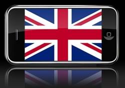 iPhone no Reino Unido