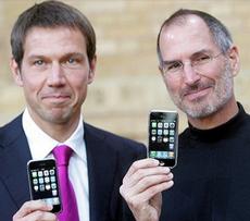 Steve Jobs e Rene Obermann