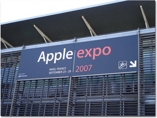 Apple Expo 2007 em Paris
