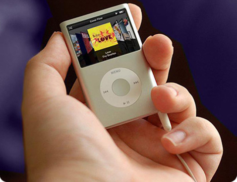 Ipod nano mock-up