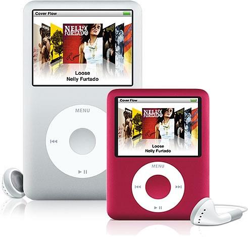 iPod classic e nano