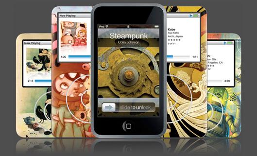 linha iPod da GelaSkins