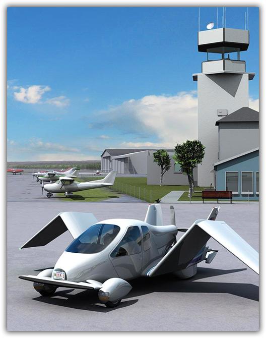 Carro com avião