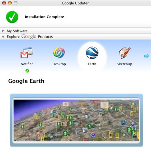 Google Updater - Google Earth