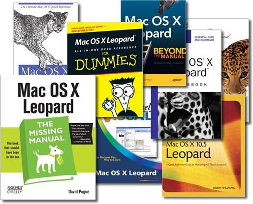 Livros sobre o Leopard