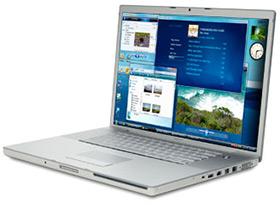 MacBook Pro e Windows Vista