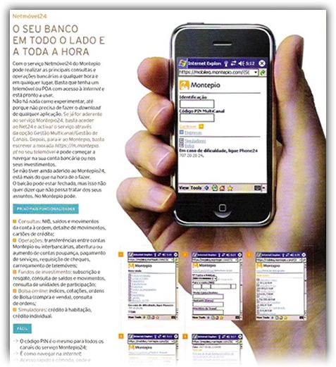 iPhone com Windows Mobile