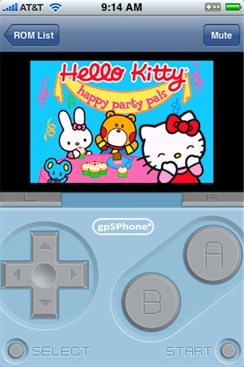 GameBoy App for iPhone