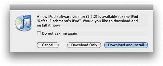 Update de iPod 5G