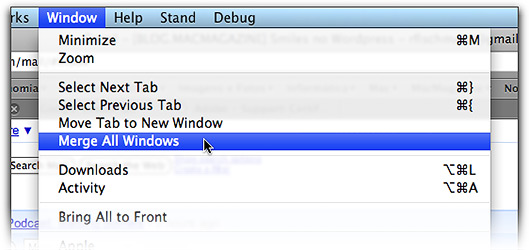 Merge All Windows